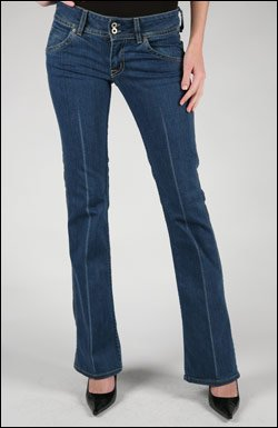 HUDSON BOOTCUT JEANS IN REGAL