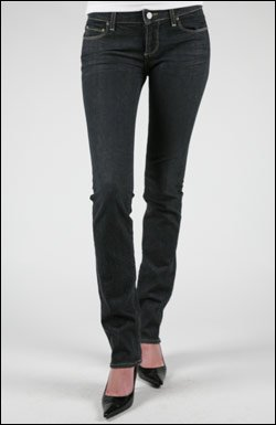 PAIGE BLUE HEIGHTS SKINNY JEANS IN PLATINUM