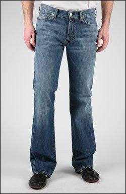 7 FOR ALL MANKIND BOOTCUT JEAN IN MCG