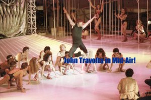 JOHN TRAVOLTA 'Staying Alive' On-Set 8x10 COLOR #1