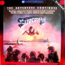 SUPERMAN II  Laserdisc, Like New, 1980