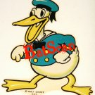 Donald Duck 1934 Decals...Oldest, Rarest on Earth! YOU GET TWO!!  (Price Reduced!)