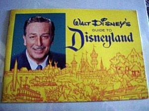 'Walt Disney's Guide to Disneyland' 1962