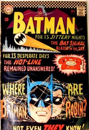 BATMAN Comics #184...September 1966...Fine Condition!