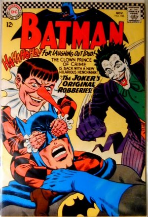 BATMAN Comics #186...November 1966...Very Fine Condition!