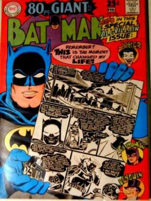 BATMAN Comics #198...January/February 1968...80-Page GIANT!  Very Fine Condition!!