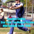 &#39;STAR TREK: THE MOTION PICTURE&#39; CANDID MDA SOFTBALL GAME  4x6--1978!! STEPHEN COLLINS! #3