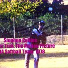 'STAR TREK: THE MOTION PICTURE' CANDID MDA SOFTBALL GAME  4x6--1978!! STEPHEN COLLINS! #6