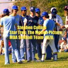 'STAR TREK: THE MOTION PICTURE' CANDID MDA SOFTBALL GAME 4x6--1978!! STEPHEN COLLINS! #14