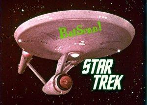 STAR TREK Original Film Slide AND Color 5x7 Pic#95 1968--Enterprise Title Shot!
