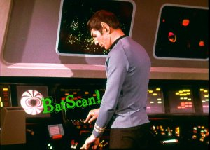 STAR TREK Original Film Slide AND Color 5x7 Photo#115 1968