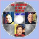 STAR TREK CAPTAINS 45th Anniversary Convention DVD--Shatner, Stewart, Mulgrew!!