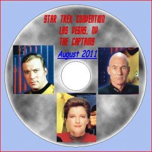 STAR TREK CAPTAINS 45th Anniversary Convention DVD--Shatner, Stewart, Mulgrew!!