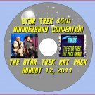 THE STAR TREK RAT PACK SHOW DVD!!  45th Anniversary Convention in Las Vegas 8-12-11