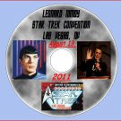 SPOCK...LEONARD NIMOY FINAL CONVENTION! STAR TREK 45TH...AUGUST 13, 2011