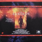 BACKDRAFT Laser Disc (1991)...Like-New, 2-Disc Letterboxed Edition..Kurt Russell, William Baldwin