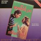 IT'S A WONDERFUL LIFE Laser Disc (1946)...2-Disc Uncut Version...James Stewart, Donna Reed