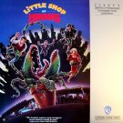 LITTLE SHOP OF HORRORS Laser Disc (1986)...Like New..Rick Moranis, Ellen Greene, Steve Martin