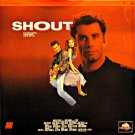SHOUT Laser Disc (1991)...Like New...John Travolta, James Walters, Heather Graham