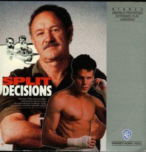 SPLIT DECISIONS Laser Disc (1988)...SEALED!  Gene Hackman, Jennifer Beals, Craig Sheffer