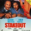STAKEOUT Laser Disc (1987)...SEALED!!...2-Disc...Richard Dreyfuss, Emilio Estevez