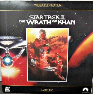 STAR TREK II: THE WRATH OF KHAN Laser Disc (1982)...Like New...Shatner, Nimoy, Montalban!!!