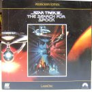 STAR TREK III: THE SEARCH FOR SPOCK Laser Disc (1984)...SEALED!! Widescreen! Spock Lives!!