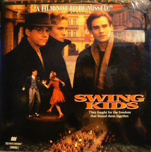 SWING KIDS Laser Disc (1993)...SEALED! Letterbox! Christian Bale, Robert Sean Leonard