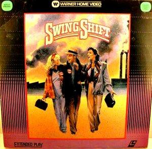 SWING SHIFT Laser Disc (1984)...Like New! Goldie Hawn, Kurt Russell, Christine Lahti