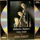 SYLVIA SCARLETT Laser Disc (1936)...SEALED!!  RARE!!  Katharine Hepburn, Cary Grant