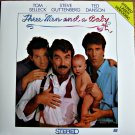 THREE MEN AND A BABY Laser Disc (1987)...SEALED!! Tom Selleck, Steve Guttenberg