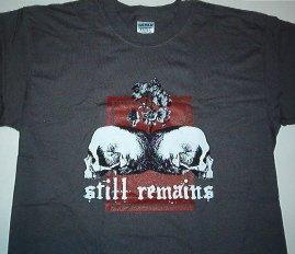 Still Remains Duo Skull Tee Medium