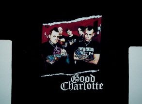 Good Charlotte Torn Pic Tee X-Large