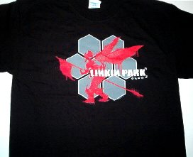Linkin Park Hex Soldier Tee Rock Tshirt X-Large