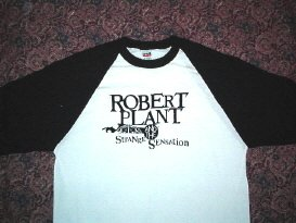 Robert Plant & SS Baseball Tee Medium