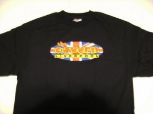 Cavern Club Liverpool Brit Flag Tee Size X-Large