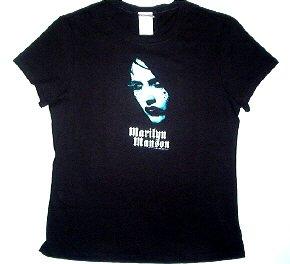 Marilyn Manson Pearl Babydoll Tee Size Large