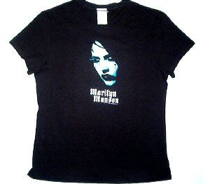 Marilyn Manson Pearl Babydoll Tee Size X-Large