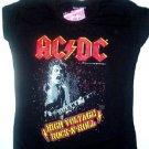 AC/DC High Voltage Girly Tee Size Medium
