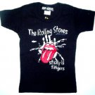Rolling Stones Sticky Babydoll Toddler Tee Size 4T
