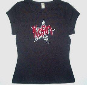 Korn Star Size X-Large Ladies Tshirt