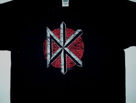 Dead Kennedys Distress Logo Tee X-Large