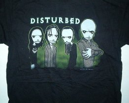 Disturbed Toon Tee Size Large