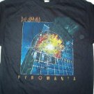 Def Leppard Pyromania Blk Tee Size Large