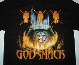 Godsmack Voodoo Tee Size X-Large
