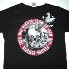 Pantera Guitar Skull Girly Tee Size Large