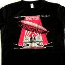 Led Zeppelin Mother Ship Distress Logo Ladies Tee Size Medium