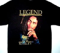 Bob Marley Legend Tee Size Large