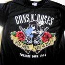Guns n Roses Classic 91 Tour Tee Size Large