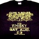 Guns n Roses Whisky Tee Size Medium